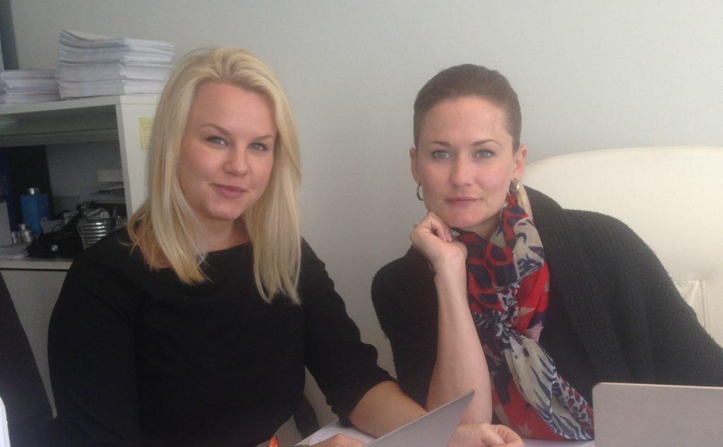 Linda och Anette