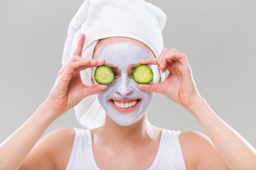 ansiktsbehandling hudvård ansikte solution by victus