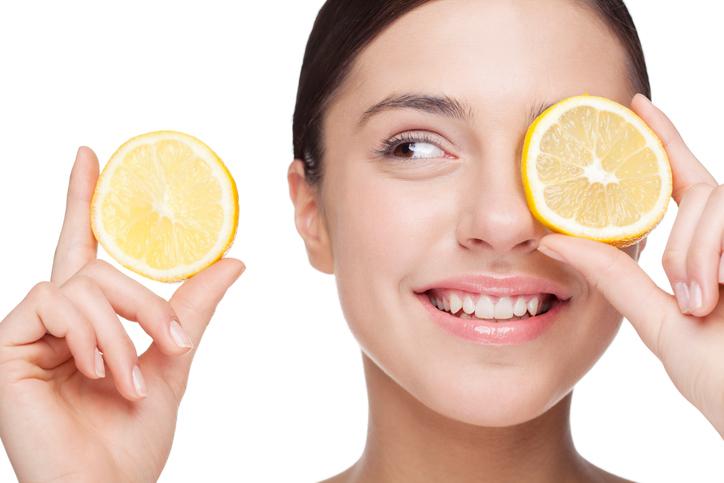 cvitamin citrus hudvård victus clinic