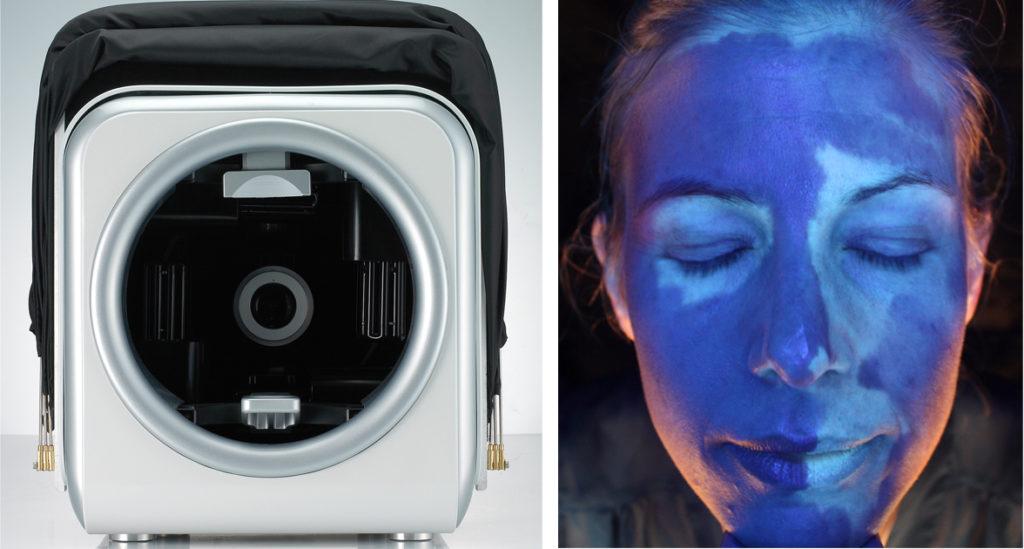 dermascanner hudvårdsanalys solskador victus clinic