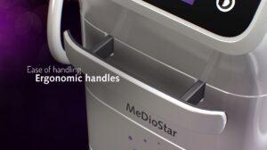 MeDioStar diodlaser ergonomiskt handtag
