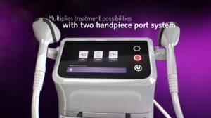 MeDioStar diodlaser två handtag